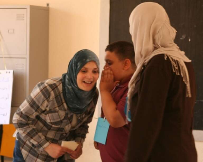 Child resilience workshop in Libya