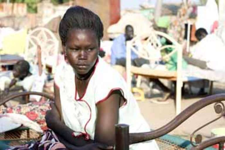 Diama ponders her future as she arrives for the first time in South Sudan