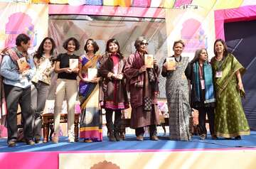 The book was launched at Jaipur Literature Festival, one of the most celebrated events in the city.