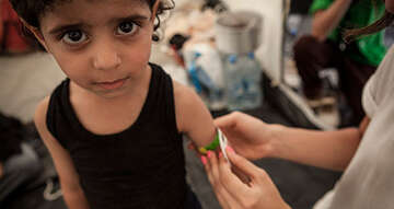 After the confirmed outbreak of polio in Syria, Save the Children is calling for 'vaccination ceasefires' to prevent a polio epidemic
