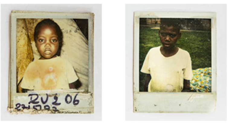 Polaroid photos from our office in Kigali, Rwanda.