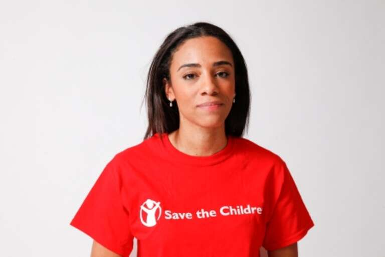 Dr. Louisa Baxter, a Public Health advisor, seconded to Save the Children