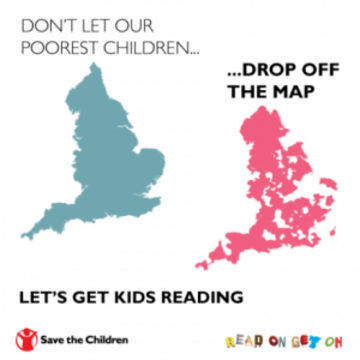 don't let England's poorest children fall off the map