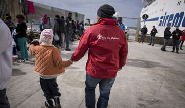Refugee Crisis, Save the Children