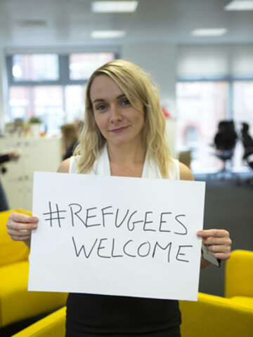 Save the Children Refugees Welcome