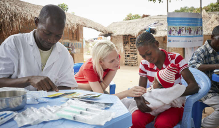 Poppy Delevingne Save the Children Democratic Republic of Congo