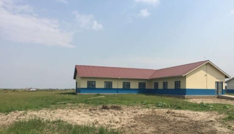 People spend up to a day walking to reach this rural health centre by Lake Albert in Uganda.