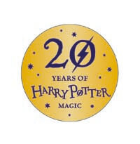 Harry Potter 20 years of magic logo