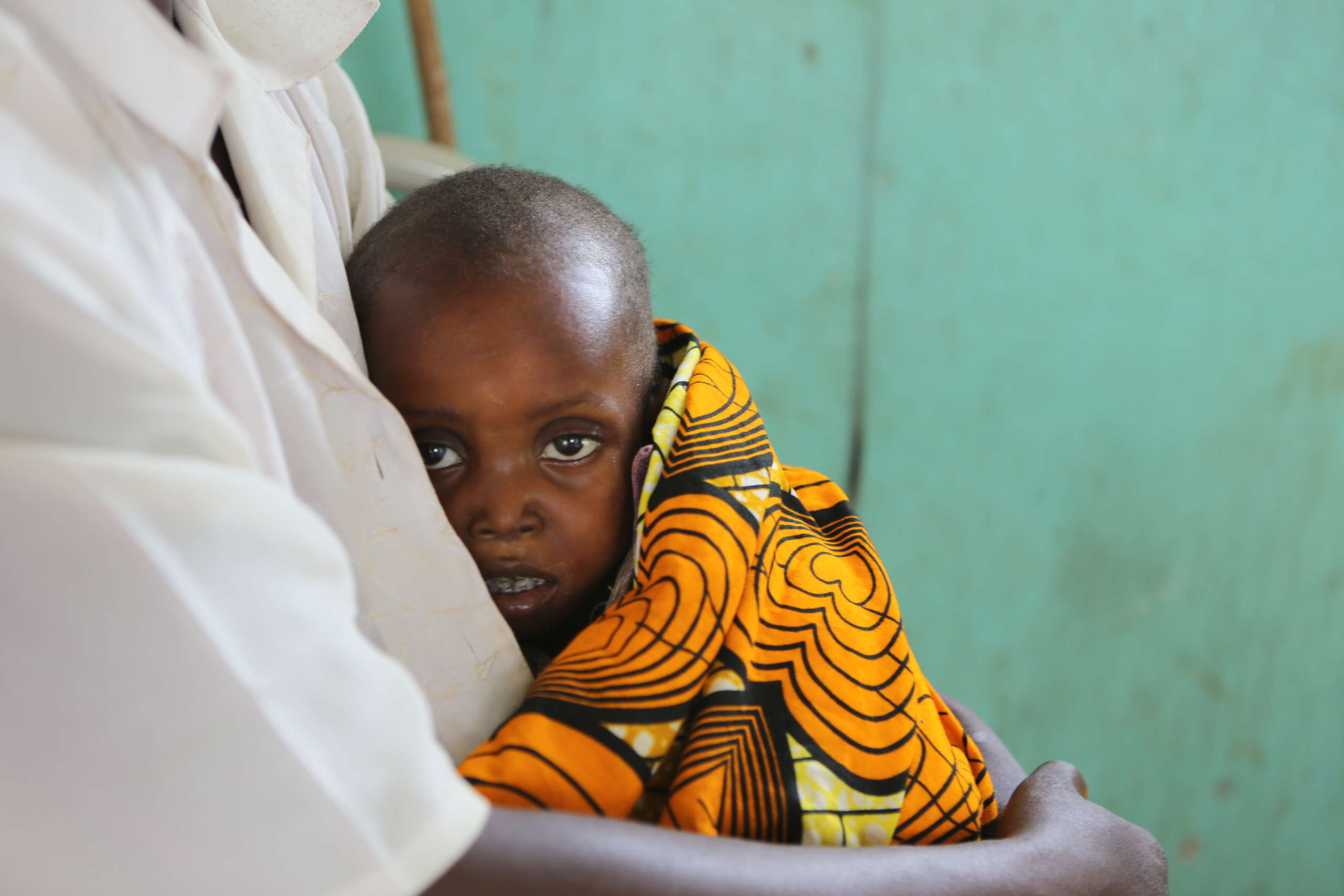 Pierre, four, at Tshilundu referral hospital, Kasia Oriental