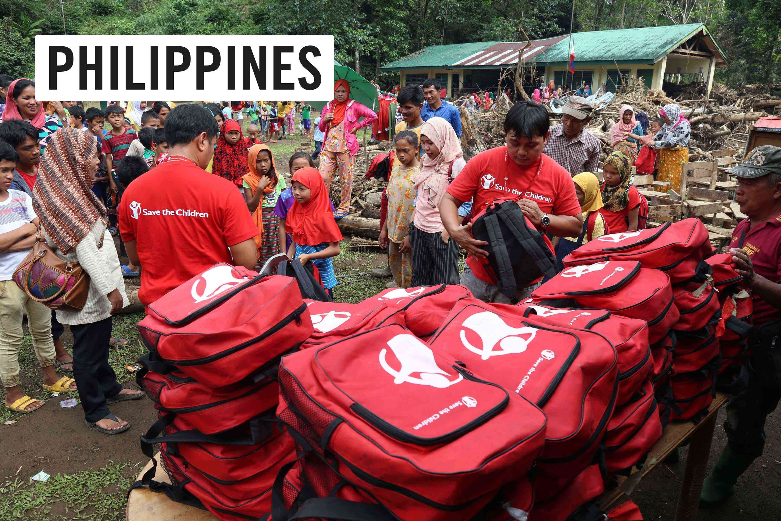 Typhoon Tembin affected nearly 27,000 families in five regions with 16,200 children.