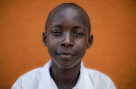 Elizabeth from South Sudanalong with her friends, are part of a debating club at their school.