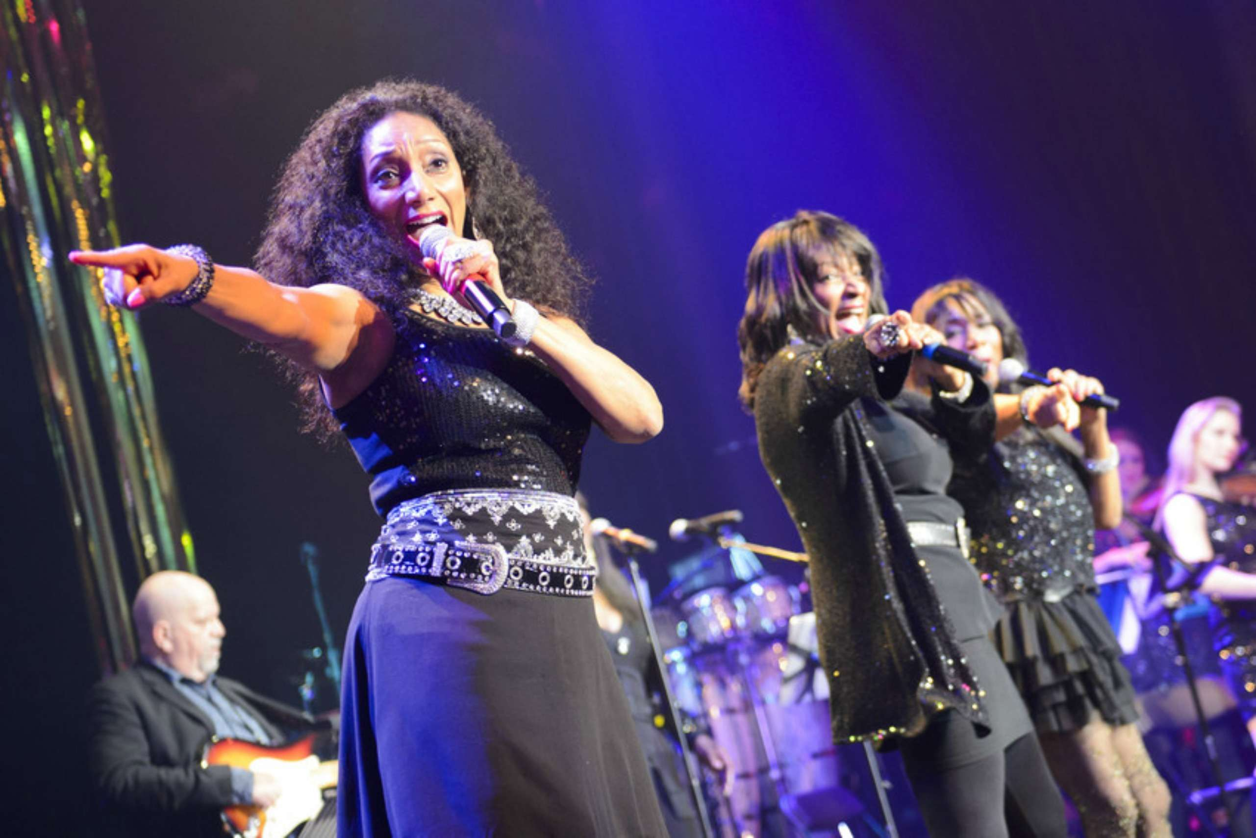 'A Night of Disco' for Save the Children UK, held at the Roundhouse in Camden, north London.