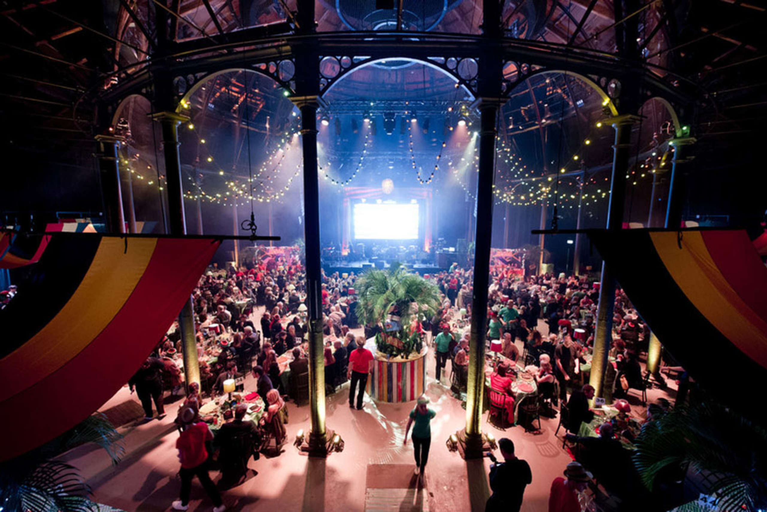 """A Night of Reggae"" for Save the Children UK, held at the Roundhouse in Camden, north London."
