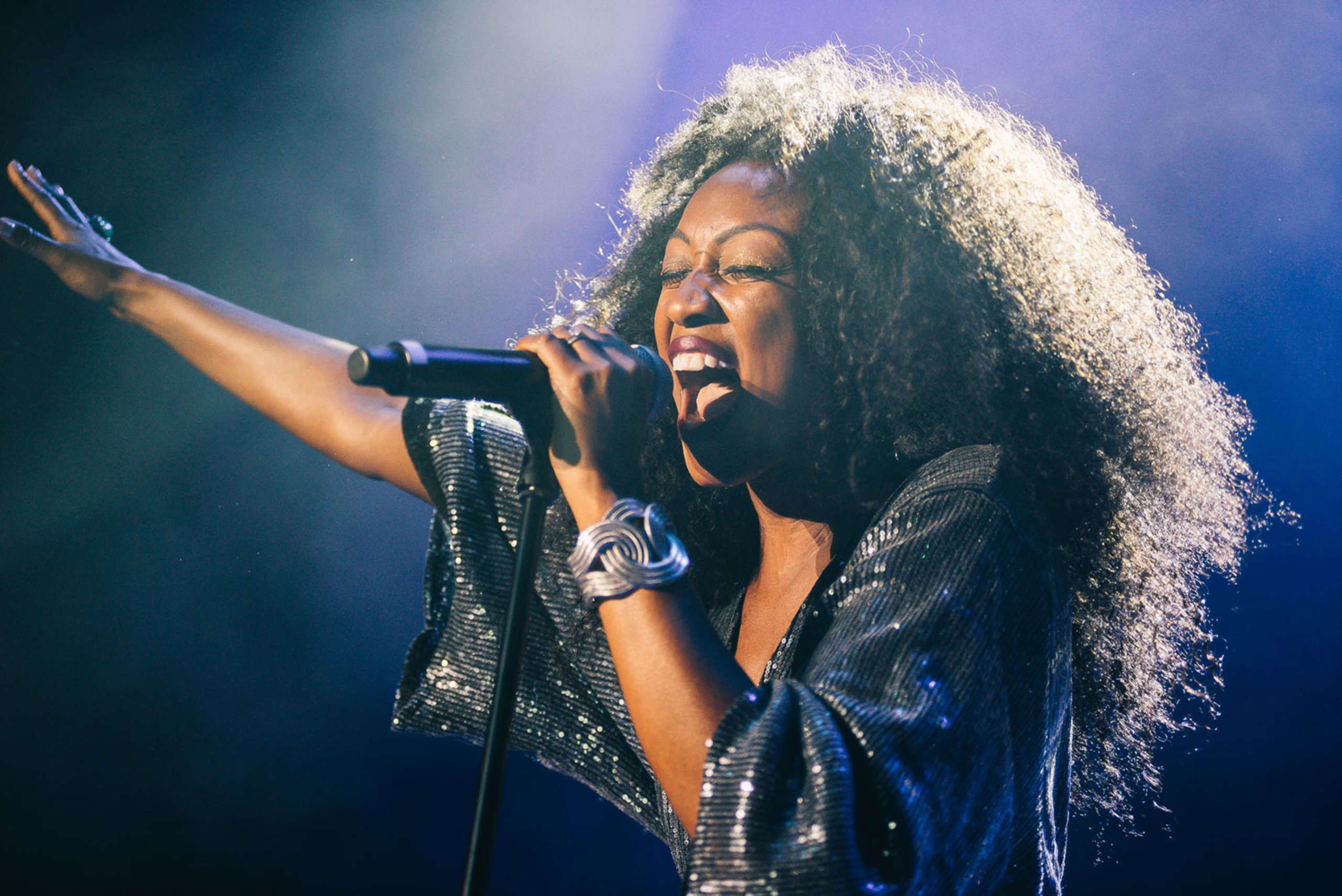 Beverley Knight performing at Save the Children's Night of Hits fundraising event, held at the Roundhouse in London on Wednesday 9th May 2018, to raise money for the charity's life-saving work